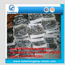 bright or polished Common round head iron wire nail for wood
