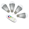 New products on china market 9w E27/E26/B22 ww&cw intelligent bulb color changing