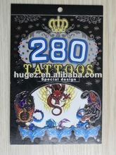 2012 popular tattoo sticker