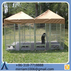 2016 hot sale popular excellent dog kennel/pet house/dog cage/run/carrier