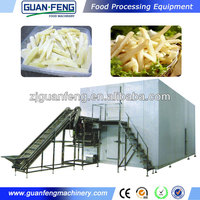 IQF quick freezer Commercial quick freezer IQF Industry quick freezer for frozen french fries making machine