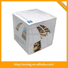 New design most popular paper cube box