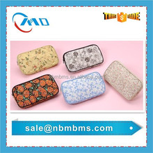 Beautiful Flowers Printed Cotton Make Up Bag