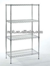 Zhong Shan 4 Tiers Metal Shelf for Supermarket Use,NSF Approval