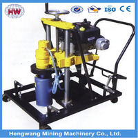 Manual hydraulic concrete core drilling machine for exploration