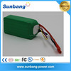 good quality high discharge rate 6S2P 10C 22.2v15000mah rc lipo battery for rc helicopter