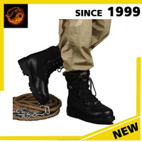 whina wholesale Waterproof Combat Lace Up Genuine Leather Upper American Military heated electric battery Boots for military
