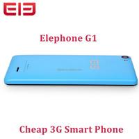 Elephone G1 Android 4.4 Cheap 3G WCDMA Smart Phone 4.5 Inch 854*480 Screen MTK6582M Quad Core 512MB RAM 4GB RAM Mobile Phone