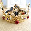 baroque cross crown headband, wedding hair accessories jewelry(SWTJU463)