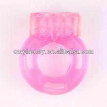 la cara de los animales de la batería changrable anillo para el pene pene manga anillos de juguete del sexo sexo productos de