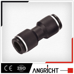 A101PUC pneumatic plastic fitting, air hose connector quick plastic one touch tube connector