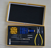 Shenzhen Wholesale 13pcs Watch Repair Tool Kit for Watchmakers