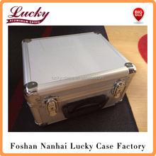 40 CD/DVD FlightCase Aluminum Mobile DJ Flight Carry Case