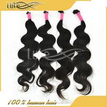 Best Selling Specialized Top Quality Body Wave Hair Bulk Brazilian Hair 4 Bundles