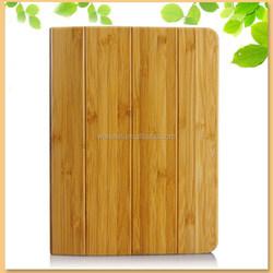 custom design handwork natural wooden bamboo smart case for ipad mini 3