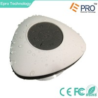 IPX7 Water Resistant Bluetooth 3.0 Shower Speaker, Handsfree Portable Speakerphone with Built-in Mic