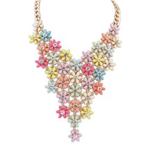 2015 hot sale summer brand fashion jewelry necklace collar necklace for women