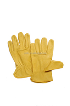 2015 High Quality Pig Leather Protective Gloves