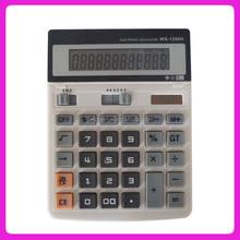 High Tech practical solar 12 digit desktop calculator
