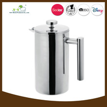 Durable hot-sale stainless steel french coffee press