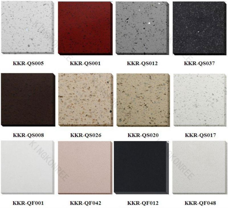 Quartz Stone Colors : Black engineered quartz white starlight stone