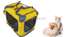 Dog carrying crate portable kennel pet cat large indoor outdoor soft carrier