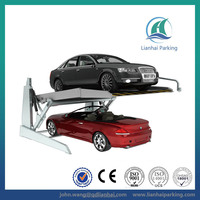 Tilting 2.0 Ton 2 floor car double smart car parking system with CE