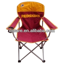beach chair with armrest with cup holder
