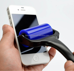 mobile phone use cleaning screen sticky roller