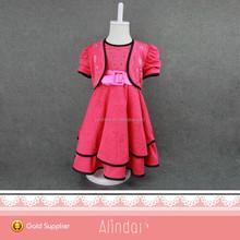 Rosa bebê roupas das meninas para a menina de 2 a 12 anos no verão