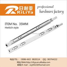 Hettich dtc 533 drawer slides,heavy duty under mount mini ball bearing drawer slides