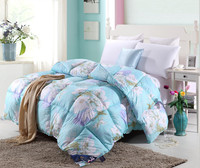 100% cotton hand embroidered lace bedspreads king size bed sheet teen plain printed personalized bedding sets for sale