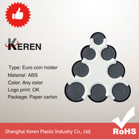 clear plastic coin holders