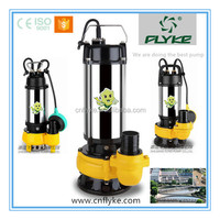 2015 hot selling WQD stainless steel electric submersible sewage pumps
