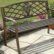 New Arrival Modern Design BQ Unique Antique Cast Iron Garden Bench