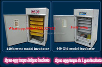 440 Best price quail egg incubators for sale/quail incubator/egg hatchers