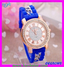 Hot selling lowest promotion watches kids rubber watches silicone with many style/colors avaiable