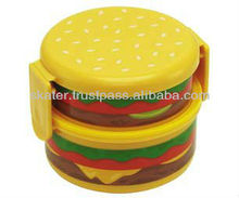 OWNR1 Burger Bento Box 500ml japan quality plastic containers for food