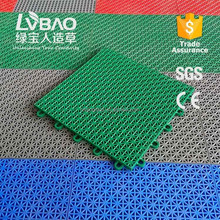 LVBAO PP material outdoor interlockingl suspended sports flooring