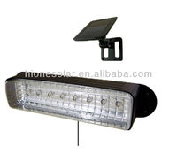 8 LED Solar Powered Outdoor Garden Deck Patio Shed Stair Barn Wall Light Fixture