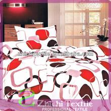 la figura geométrica chino de microfibra hoja de cama conjunto