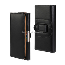 Leather holster belt clip pouch wallet cellphone case for Samsung S6