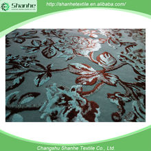 2015 New style flock fabric textiles