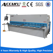 Accurl steel board shearing machine Hydraulic Shearer with Swing Beam QC12Y-16x2500