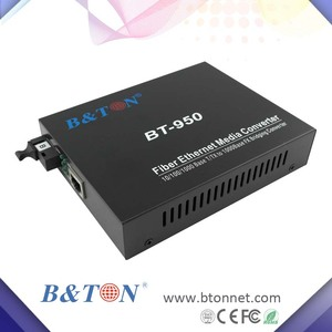 ethernet to twisted pair converter 10/100/1000M Один волокна или один оптический Волоконно Media Converter 20KM r