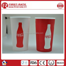 customized change color or logo plastic cup