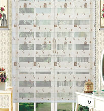 UK modern style printed zebra fabric for window blinds