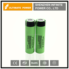 Original panasonic li-ion battery cell ncr18650b 3400mah 3.7v lithium ion cylindrical rechargeable battery 18650