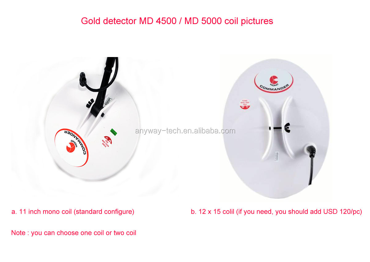 diamond detector MD4500 / MD5000 cheap metal detector
