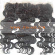 gray In 13x4 straight Wave filipino Hair Silk Base Lace Frontal Closure